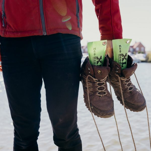 Green Eco Whiff Deodorizers In Walking Boots